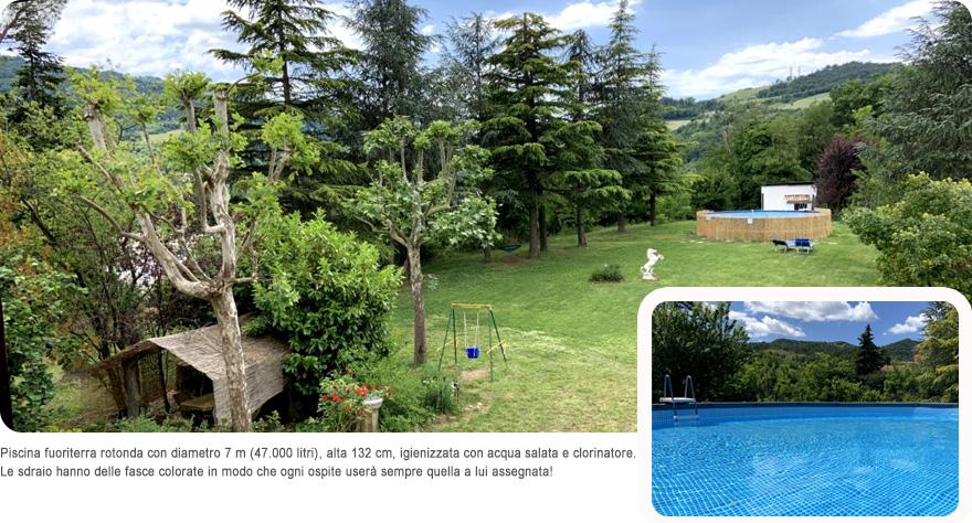 Casa vacanza tra Bologna e Firenze, www.ilgiardinoincantato.it